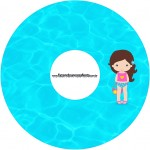 CD DVD Pool Party Menina