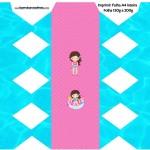 Caixa Bala Pool Party Menina