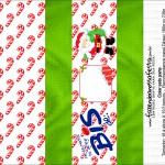 Caixa Bis Presente de Natal Papai Noel com Mensagem