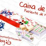 Caixa Bis Presente de Natal – Criativo e Barato