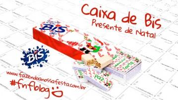 Caixa Bis Presente de Natal Barato e Criativo