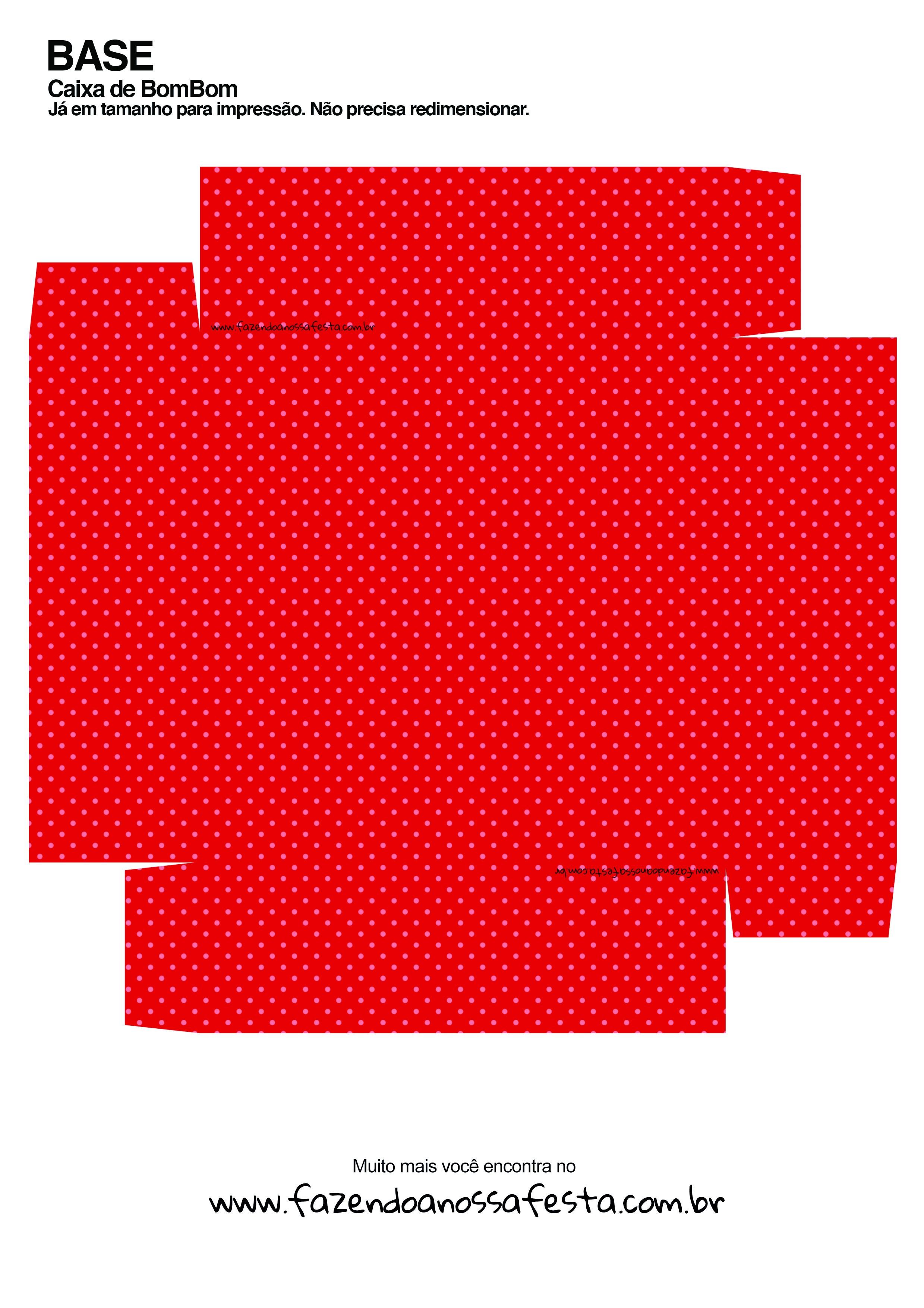 Caixa Personalizada Natal Boneco de Neve - Verso