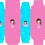 Caixa Sabonete Pool Party Menina