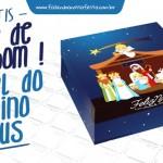 Caixa Bombom Nascimento de Jesus – Pronta para Imprimir