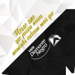 Caixa de BomBom Lembrancinha Ano Novo Diamante Negro 2 Tampa