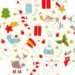 Caixa de Bombom Natal Corujas - Fundo