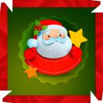 Caixa de Bombom Natal Guirlanda Papai Noel