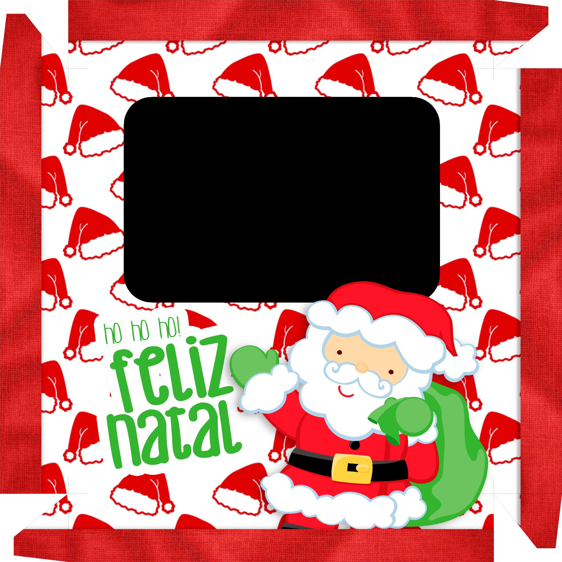 Caixa de Bombom Natal Papai Noel 2