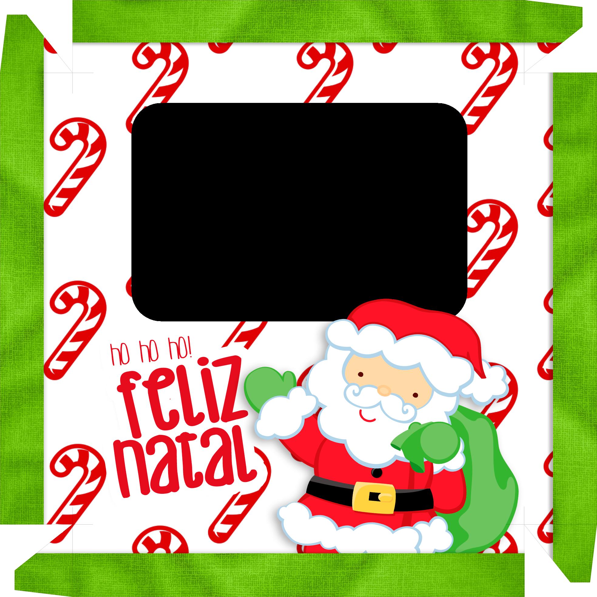 Caixa de Bombom Natal Papai Noel