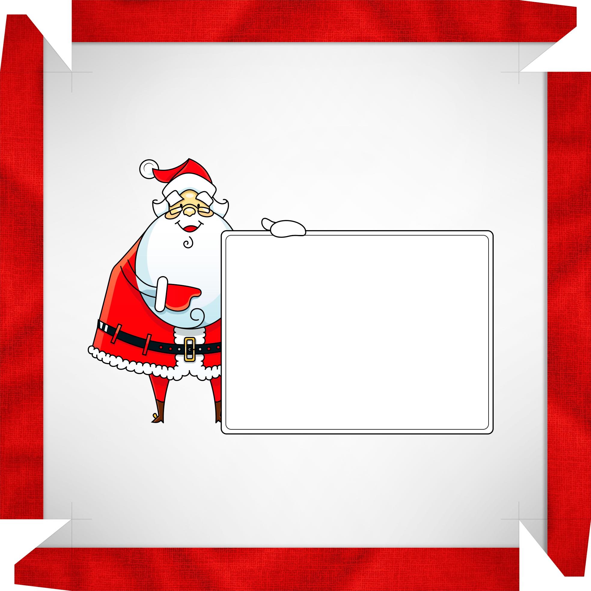 Caixa de Bombom Papai Noel com mensagem 2