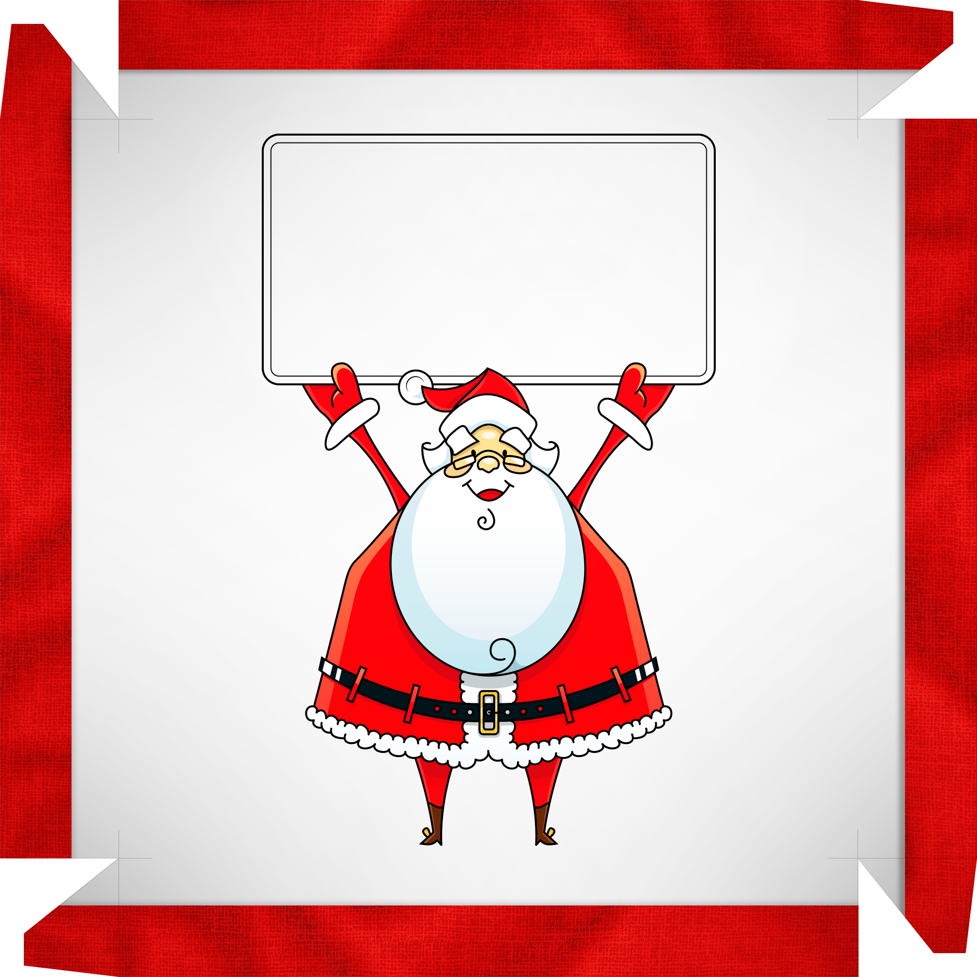 Caixa de Bombom Papai Noel com mensagem