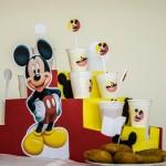 Centro de Mesa Toten de mesa Festa Mickey Mouse do Martim