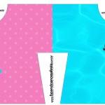 Convite Camisa Pool Party Menina
