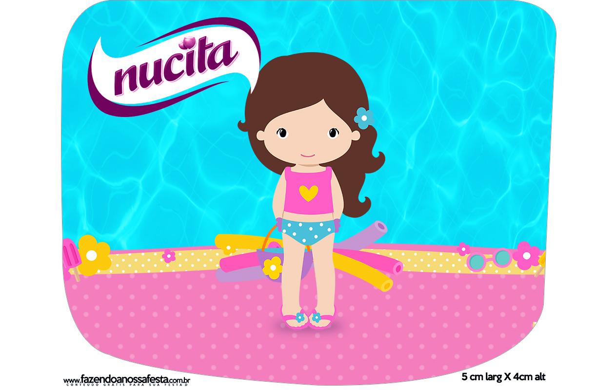 Creminho Nucita Pool Party Menina