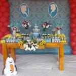 Decoração Festa Frozen Fever da Marianna