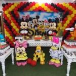 Decoração Festa Mickey do Leonardo