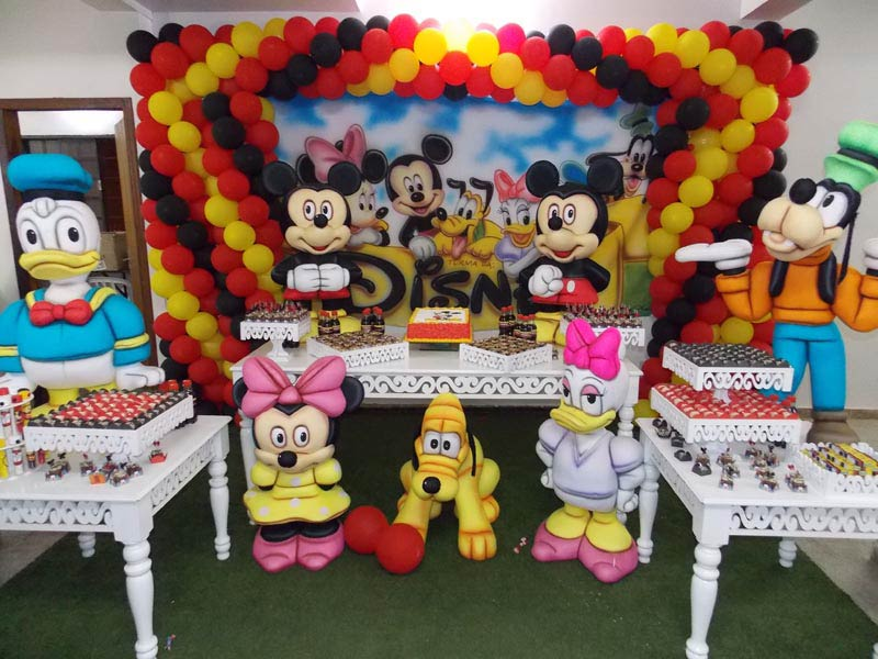 decoracao festa mickey:Festa Do Mickey