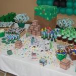 Doces Festa Minecraft do Lucas