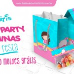 Pool Party Meninas (Festa na Piscina)  – Personalizados para Imprimir