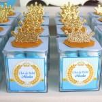 Lembrancinha Chá de Bebê Coroa do Nicolas