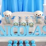 Letra 3D Chá de Bebê Coroa do Nicolas