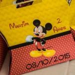 Maleta Festa Mickey Mouse do Martim