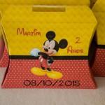 Maleta da Festa Mickey Mouse do Martim