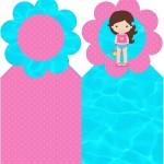 Marcador de Páginas Pool Party Menina