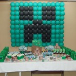 Festa Minecraft do Lucas