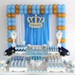 Mesa dos doces Chá de Bebê Coroa do Nicolas