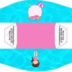 Mini Cachorro-quente Pool Party Menina