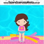 Mini Pastilha Docile Pool Party Menina