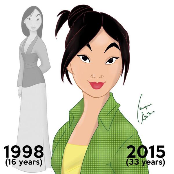Mulan - Nos dias atuais