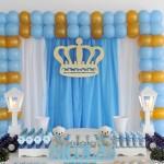 Chá de Bebê Coroa de Príncipe do Nicolas