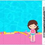 Pirulito Mastigável Pool Party Menina