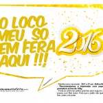Plaquinha Divertida para Fotos 2016 Ano Novo 02
