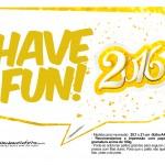 Plaquinha Divertida para Fotos 2016 Ano Novo 03