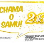Plaquinha Divertida para Fotos 2016 Ano Novo 13