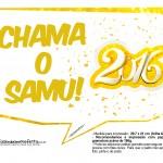 Plaquinha Divertida para Fotos 2016 Ano Novo 16