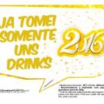 Plaquinha Divertida para Fotos 2016 Ano Novo 17