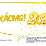 Plaquinha Divertida para Fotos 2016 Ano Novo 19
