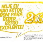 Plaquinha Divertida para Fotos 2016 Ano Novo 24