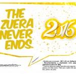 Plaquinha Divertida para Fotos 2016 Ano Novo 27