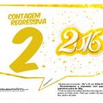 Plaquinha Divertida para Fotos 2016 Ano Novo 32