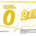 Plaquinha Divertida para Fotos 2016 Ano Novo 34