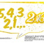 Plaquinha Divertida para Fotos 2016 Ano Novo 35