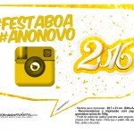 Plaquinha Divertida para Fotos 2016 Ano Novo 43