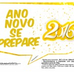 Plaquinha Divertida para Fotos 2016 Ano Novo 44