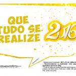 Plaquinha Divertida para Fotos 2016 Ano Novo 49