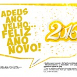 Plaquinha Divertida para Fotos 2016 Ano Novo 50